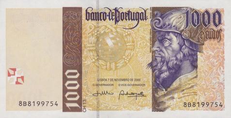 1.000 Escudo Schein