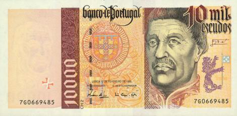 10.000 Escudo Schein